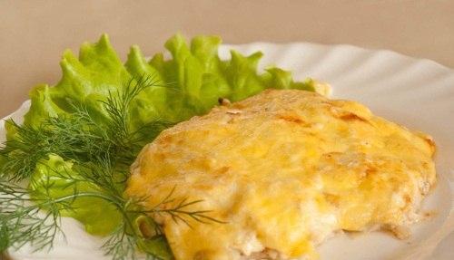 Куриное филе в сырной корочке рецепт фото