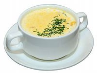 Сырный суп по-швейцарски