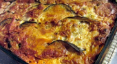 Баклажаны запеченные с сыром