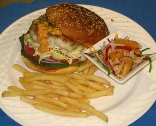 Бутерброды с рыбой.