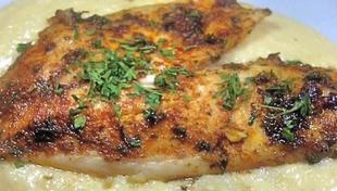 Филе рыбы с сыром