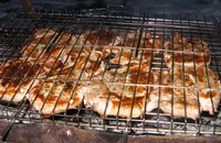 Ребрышки свиные барбекю