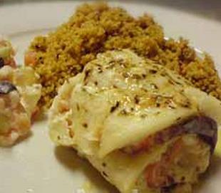 Рецепт рулета из рыбы