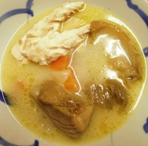 Суп из рыбы.