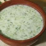 Суп из кефира