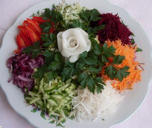 Рецепт салатa Цветик семицветик