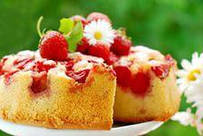 Рецепт вкусного клубничного пирога