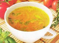 Диетически куриный суп в мультиварке
