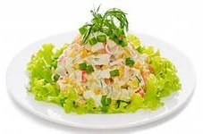 Салат из крабовх палочек