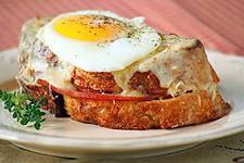 Бутерброды «Croque madame»