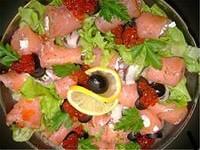 Салат-коктейль «Морской бриз»