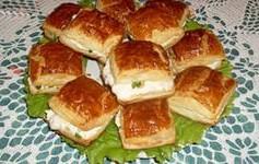 Закуска с крабовым мясом «Наполеоны»