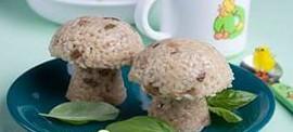 Каша рисовая с грибами