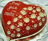 """Торт """"Сердце"""" своими руками"""
