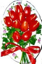 Закуска «Букет тюльпанов»