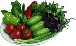 Салаты «Весеннее настроение» из свежих овощей