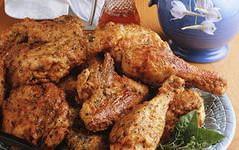 Куриные окорочка на решетке