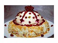 Салат «Шапка Мономаха» без мяса