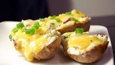 Запеченный картофель на костре
