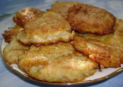 Рецепт приготовления оладий