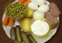 Как приготовить оливье